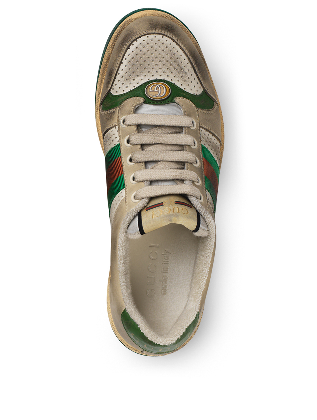 7600c7ab26 GUCCI Screener Leather Sneakers | Holt Renfrew
