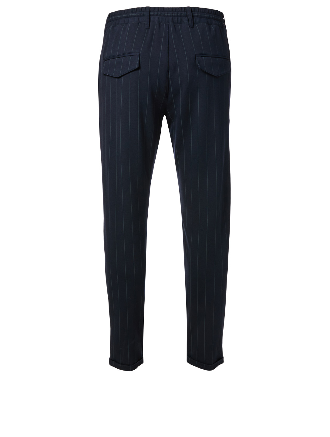 ELEVENTY Jogger Pants In Pinstripe Men's Blue