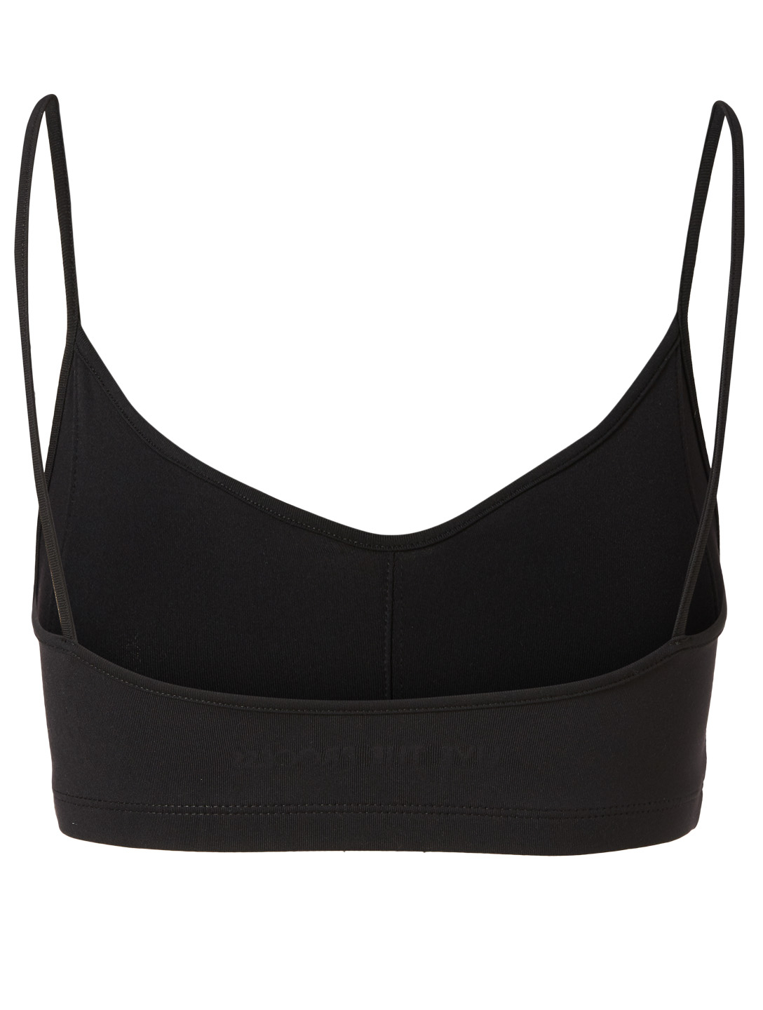 LIVE THE PROCESS Corset Bra Women's Black