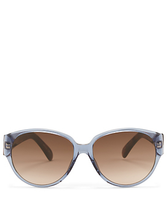 GIVENCHY Cat Eye Sunglasses Womens Blue