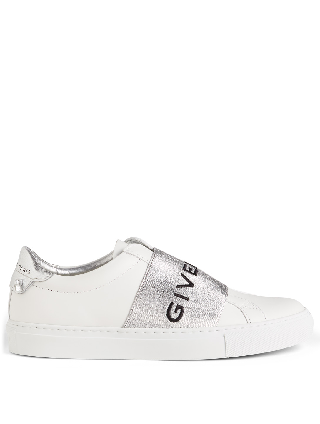 719ecf11a99 GIVENCHY Urban Street Leather Slip-On Sneakers Women s Silver ...