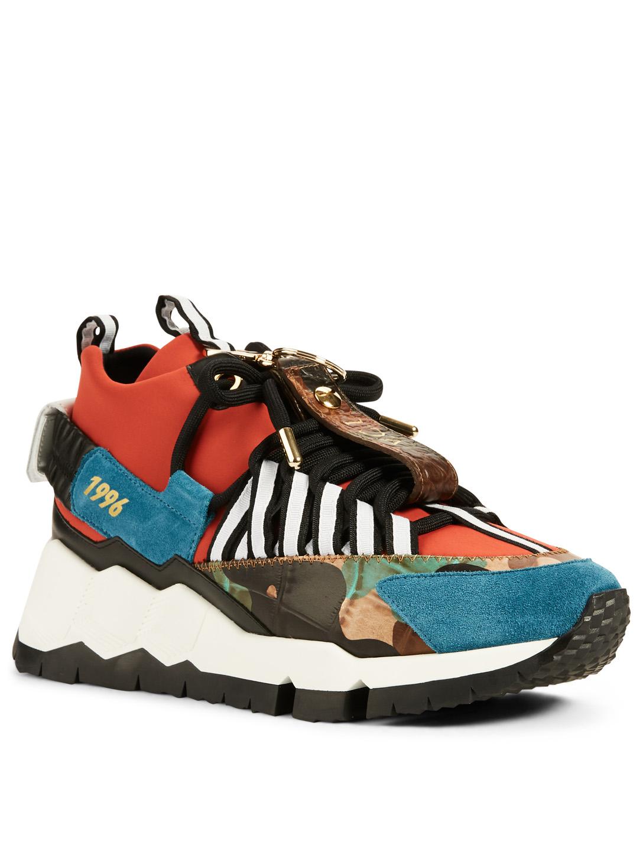 115018574ba09 ... PIERRE HARDY SX03 Victor Cruz Sneakers Men s Multi ...