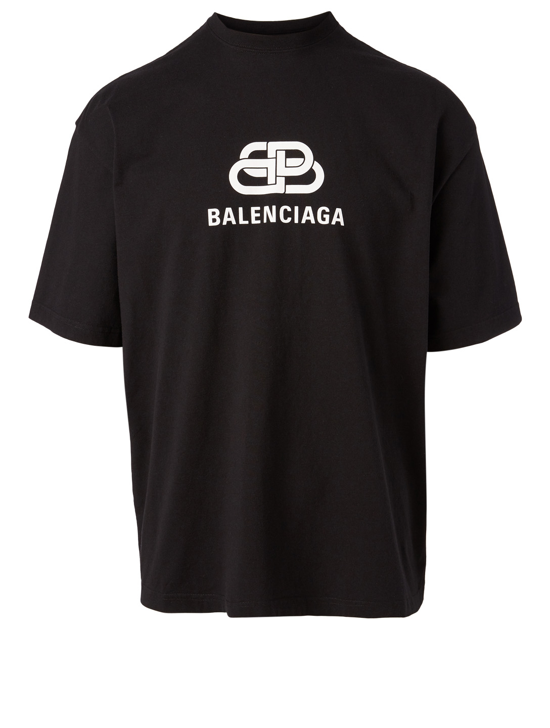 BALENCIAGA Logo T-Shirt Men's Black