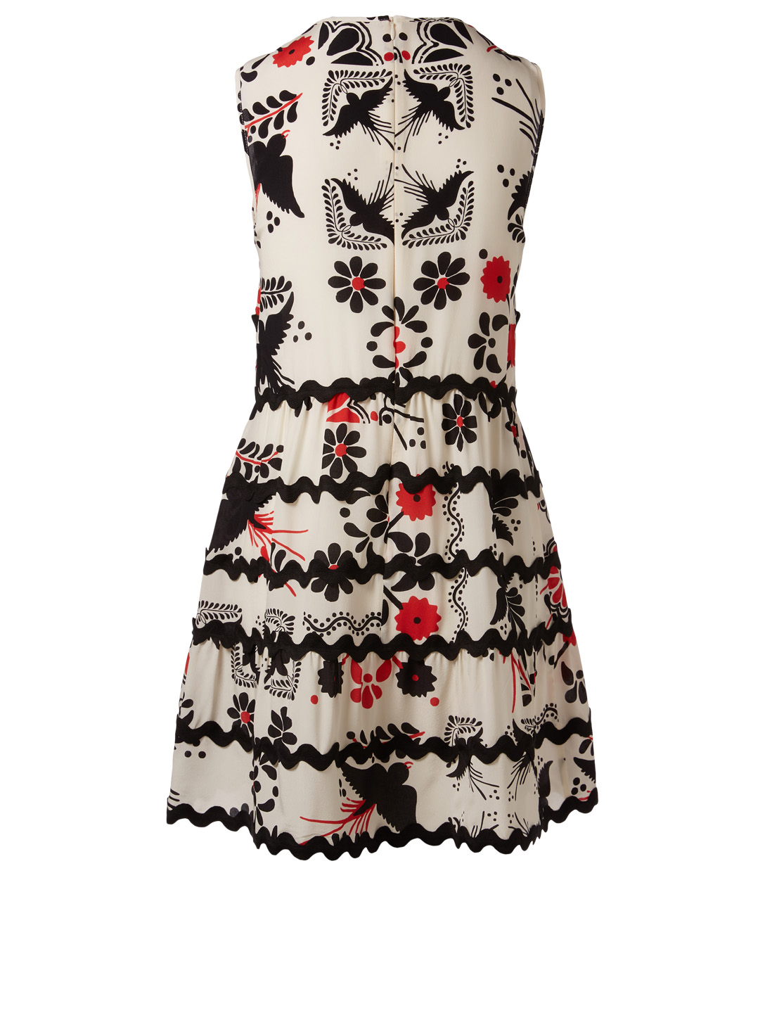 RED VALENTINO Printed A-Line Dress Women's Multi