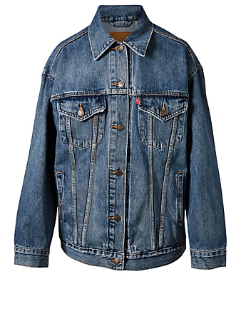 LEVI'S Baggy Trucker Jean Jacket Women's Blue