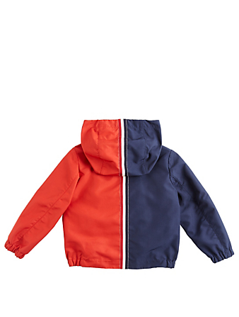 MONCLER ENFANT Boys Omer Two-Tone Jacket Kids Blue