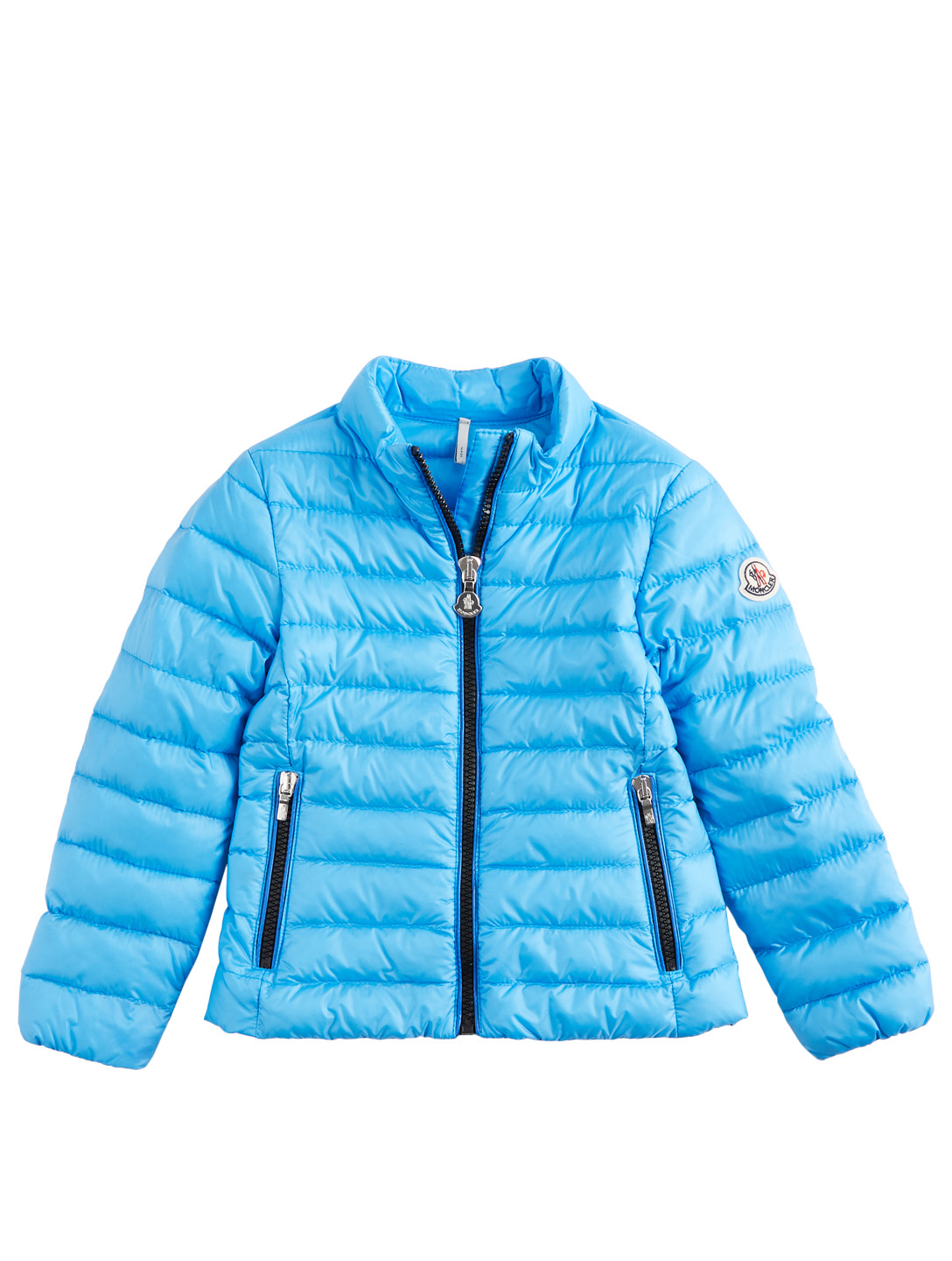 MONCLER ENFANT Girls Kaukura Down Puffer Jacket Kids Blue