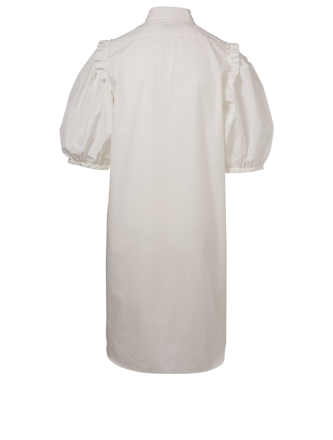 MONCLER GENIUS 4 Moncler Simone Rocha Ruffled Shirt Dress Women's White