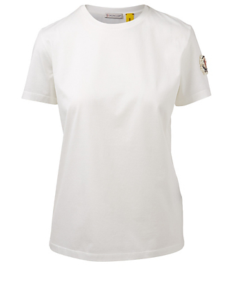 MONCLER GENIUS 4 Moncler Simone Rocha Sleeve Patch T-Shirt Women's White