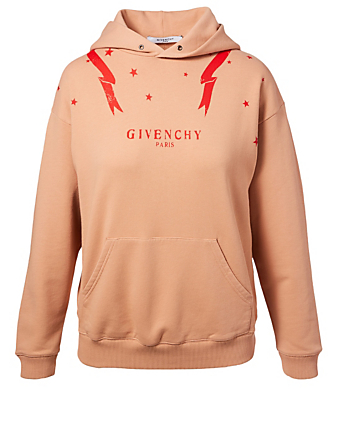 GIVENCHY Hoodie In Gemini Print Women's Neutral