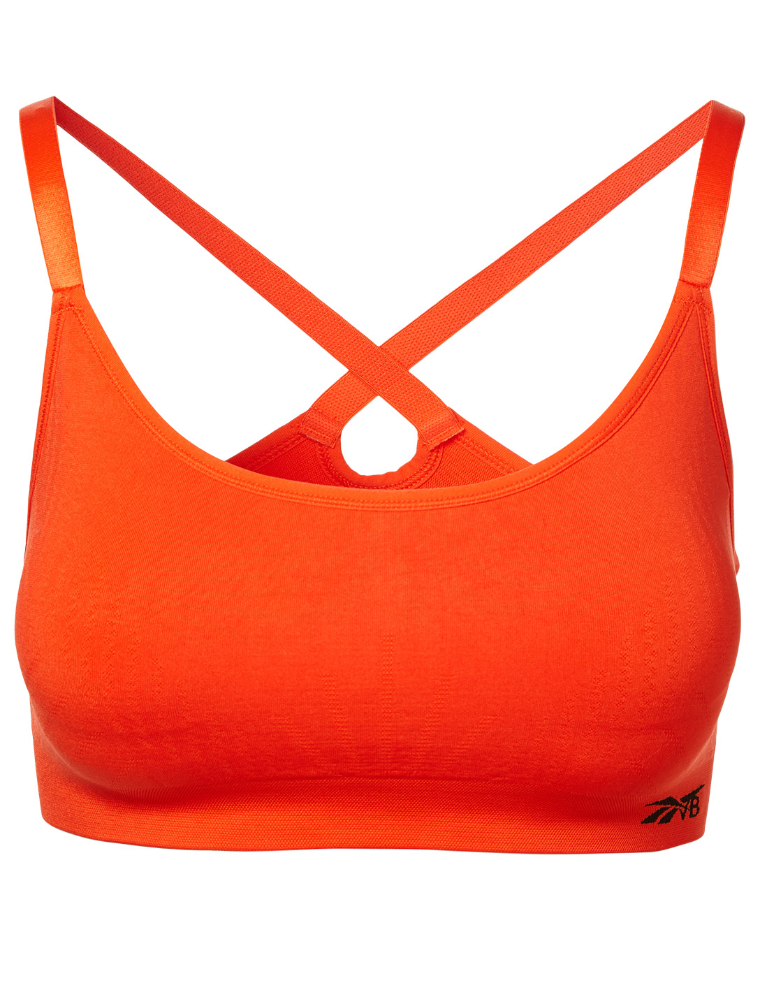 REEBOK X VICTORIA BECKHAM Seamless Sports Bra Women's Orange