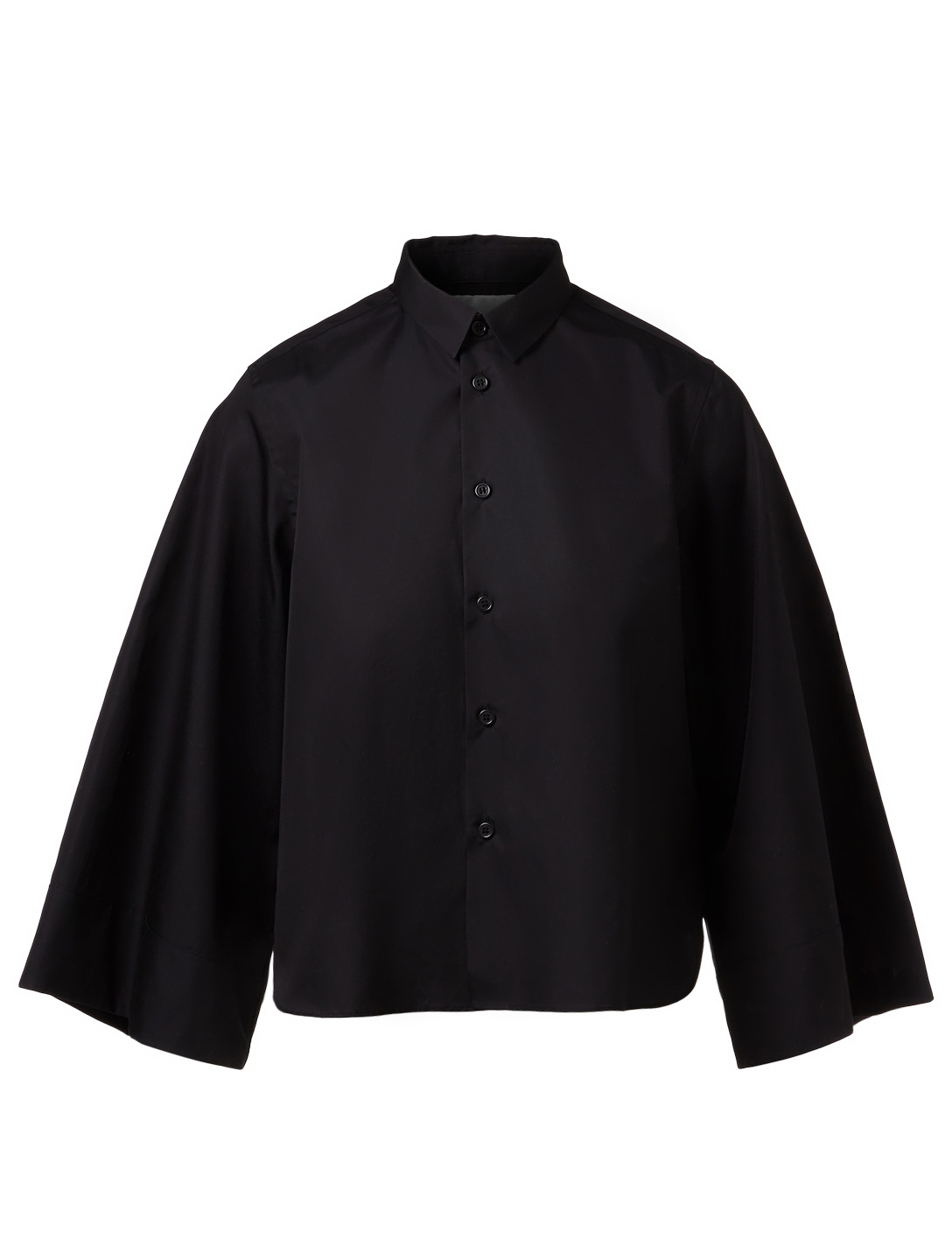 NOIR KEI NINOMIYA Button-Up Shirt With Flared Sleeves Womens Black