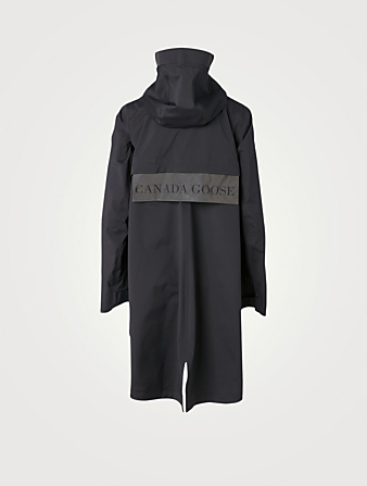 CANADA GOOSE Kitsilano Black Label Raincoat Women's Black