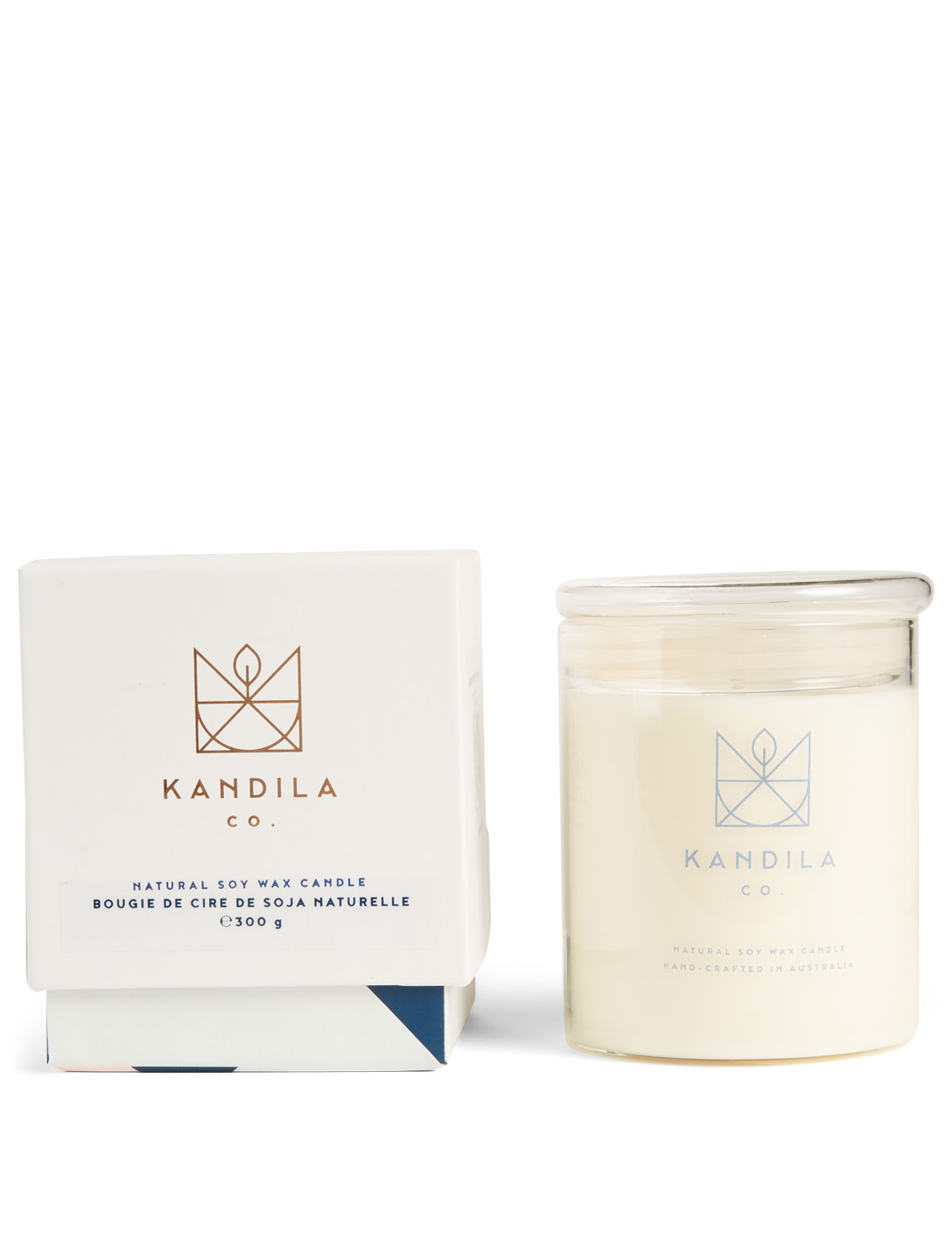 KANDILA CO. Exotic Black Tea Soy Wax Candle H Project