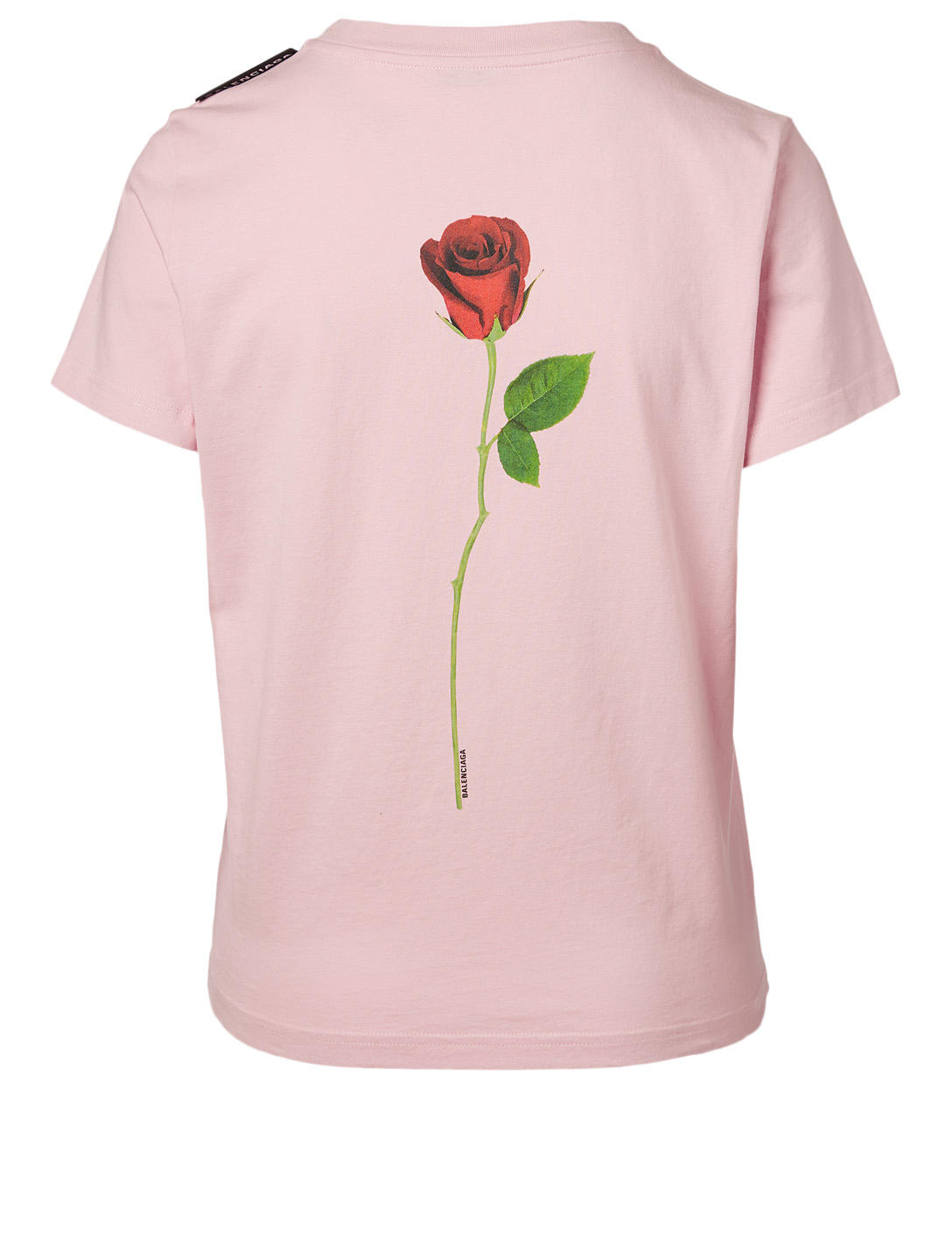 BALENCIAGA Rose T-Shirt Women's Pink