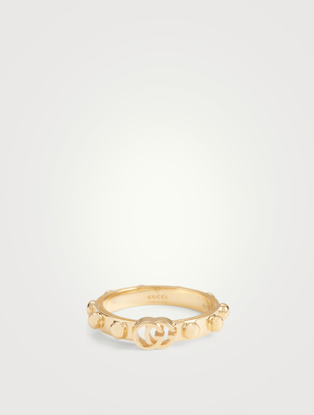 839eee630ad8 GUCCI GG Running 18K Gold Ring