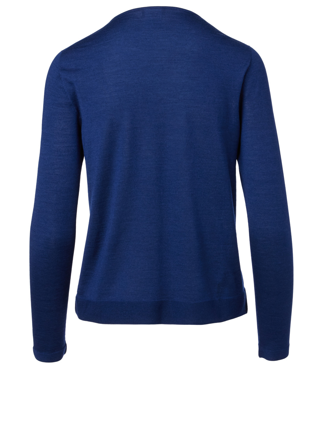AKRIS Cashmere And Silk Long-Sleeve Sweater Women's Blue
