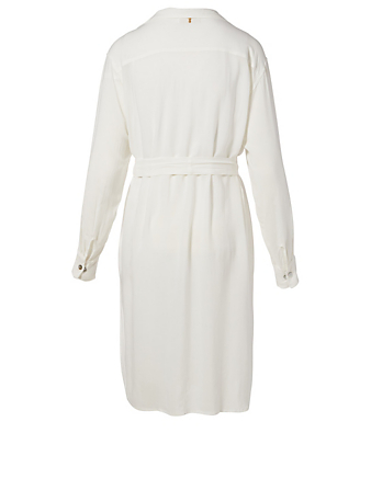 BEACHGOLD Evi Coverup Dress H Project White