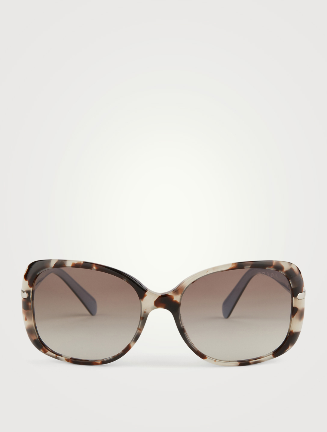 PRADA Square Sunglasses Women's Neutral