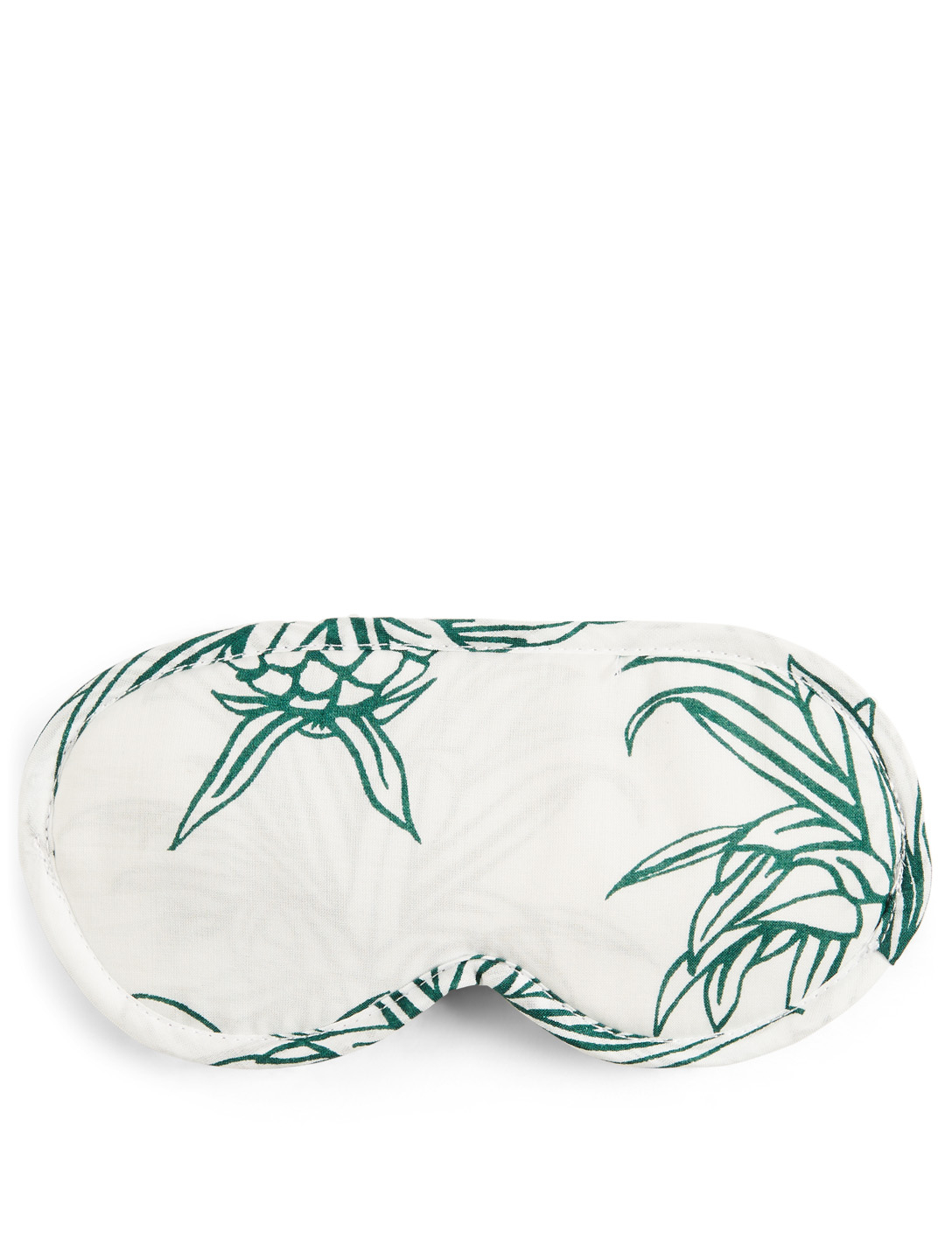 DESMOND & DEMPSEY Howie Pineapple Eye Mask H Project White