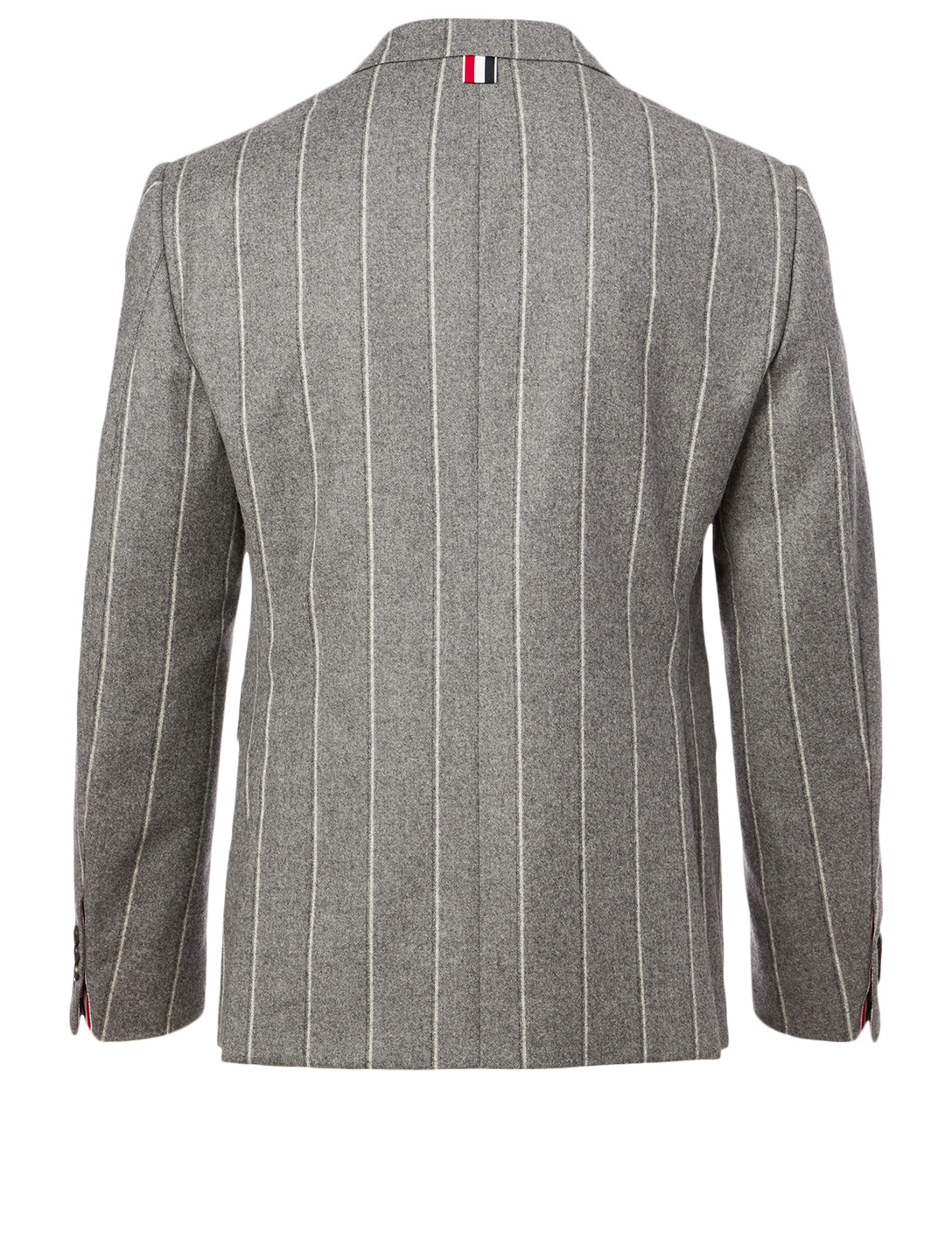 THOM BROWNE Wool Jacket In Stripe Print Men's Grey