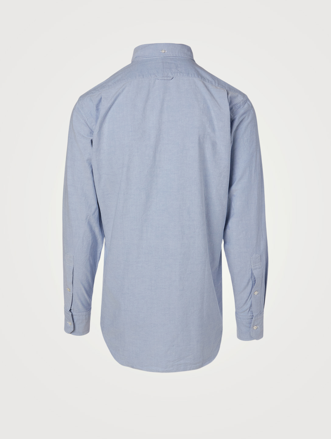 THOM BROWNE Cotton Oxford Shirt Men's Blue