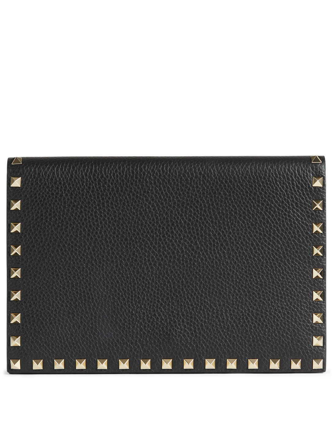 990029dc15 VALENTINO GARAVANI Medium Rockstud Leather Clutch Bag | Holt Renfrew