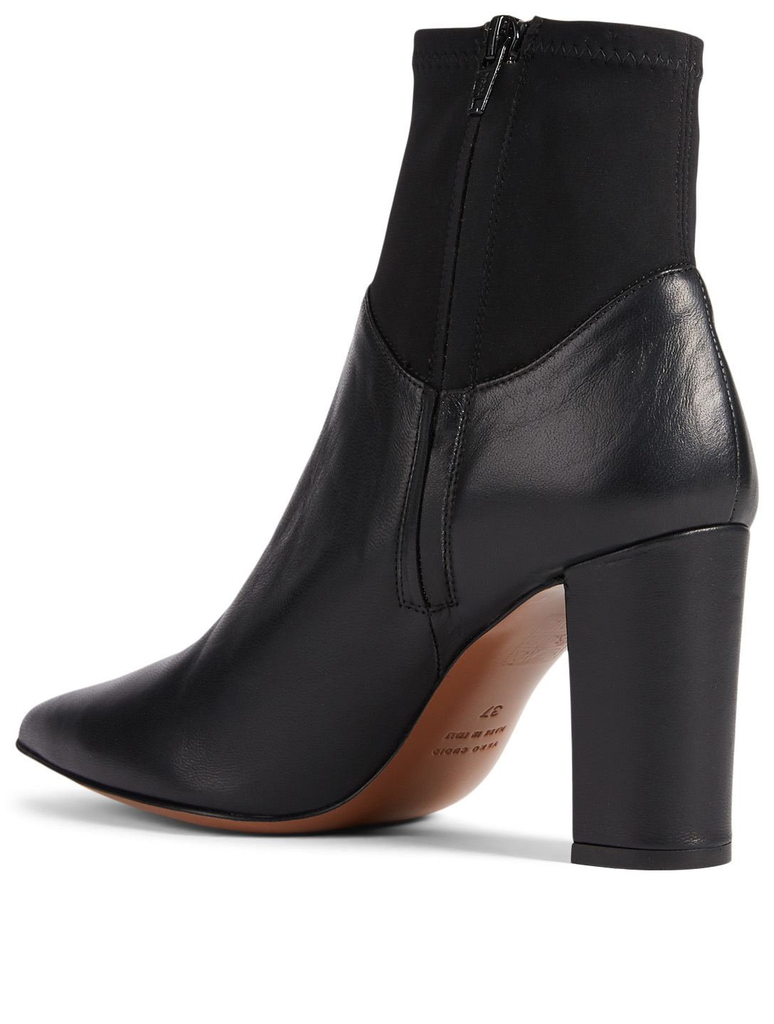 ATP ATELIER Enna Leather Ankle Boots Women's Black