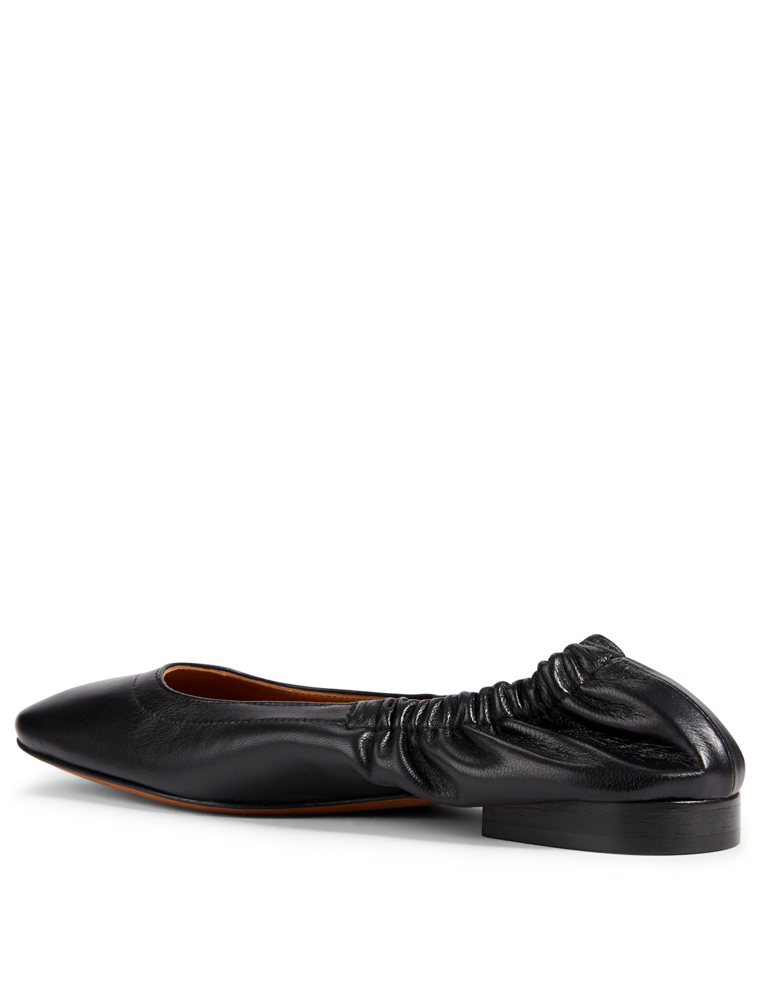 ATP ATELIER Neve Leather Ballet Flats Women's Black