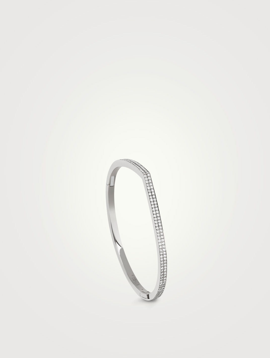 REPOSSI Antifer White Gold Bracelet With Diamonds Women's Silver
