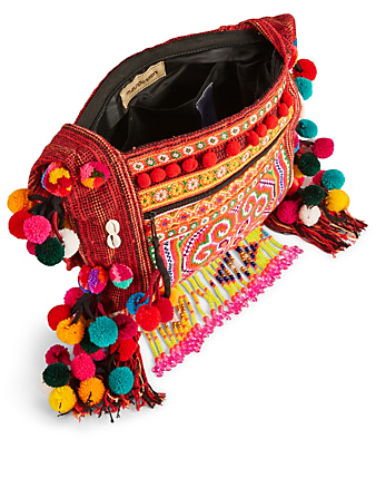 MUZUNGU SISTERS Embroidered Textile Shoulder Bag Collections Multi