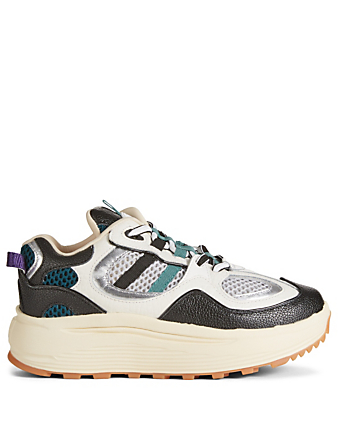 EYTYS Jet Turbo Leather And Mesh Sneakers Womens Multi