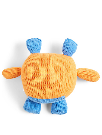 CAMBODIA KNITS Penelope Monster Plush Toy H Project Orange