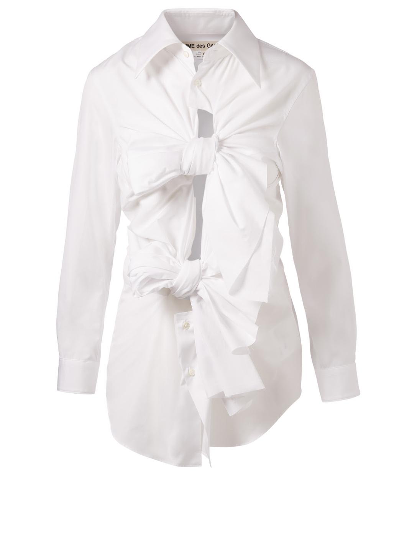 55fdae5844d COMME DES GARÇONS Bow Tie Shirt | Holt Renfrew