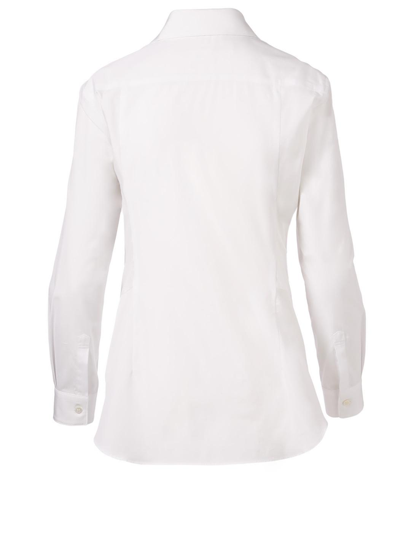 0c85647c2f1 ... COMME DES GARÇONS Bow Tie Shirt Women's White