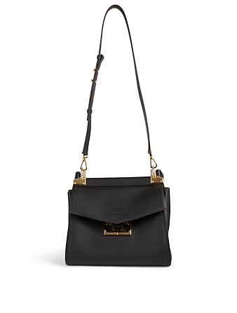 GIVENCHY Small Mystic Leather Bag Women's Black