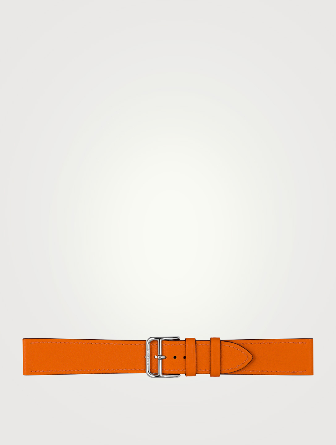 HERMÈS Swift Leather Watch Strap Women's Orange