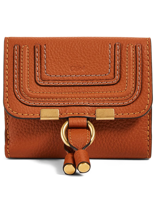 7f720b74 CHLOÉ Marcie Square Leather Wallet | Holt Renfrew