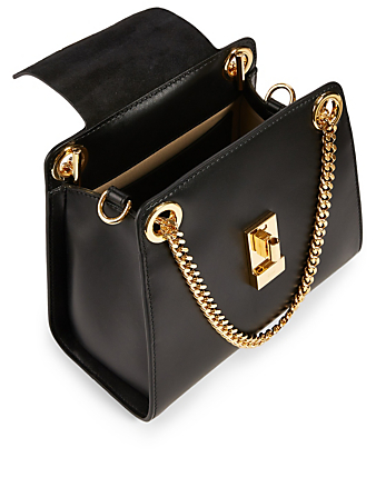 CHLOÉ Mini Annie Leather Bag Women's Black