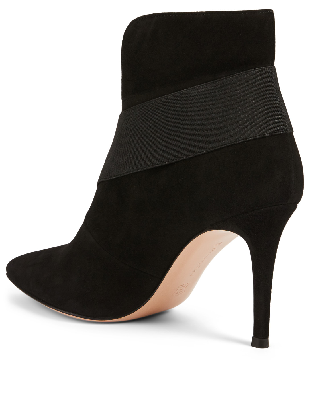GIANVITO ROSSI Suede Ankle Boots Women's Black