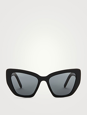 PRADA Cat Eye Sunglasses Women's Black