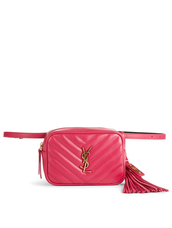 78db33cc SAINT LAURENT Lou YSL Monogram Matelasse Leather Belt Bag | Holt Renfrew