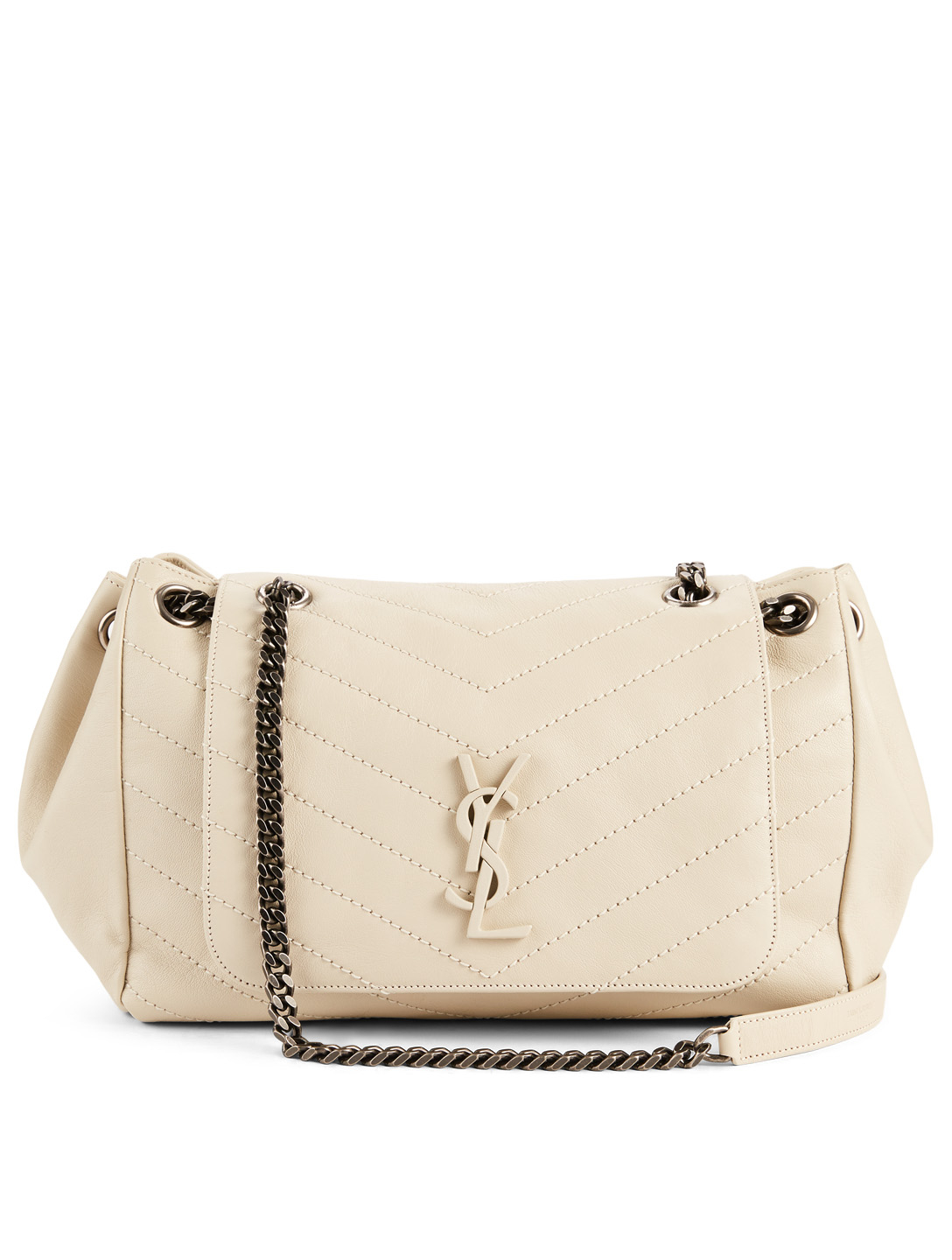91a1adf4585c68 SAINT LAURENT Medium Nolita Monogram Leather Chain Bag | Holt Renfrew