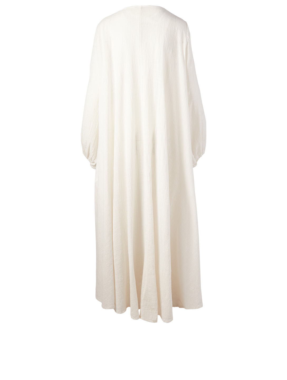 KALITA Gaia Cotton Gauze Wrap Maxi Dress H Project White