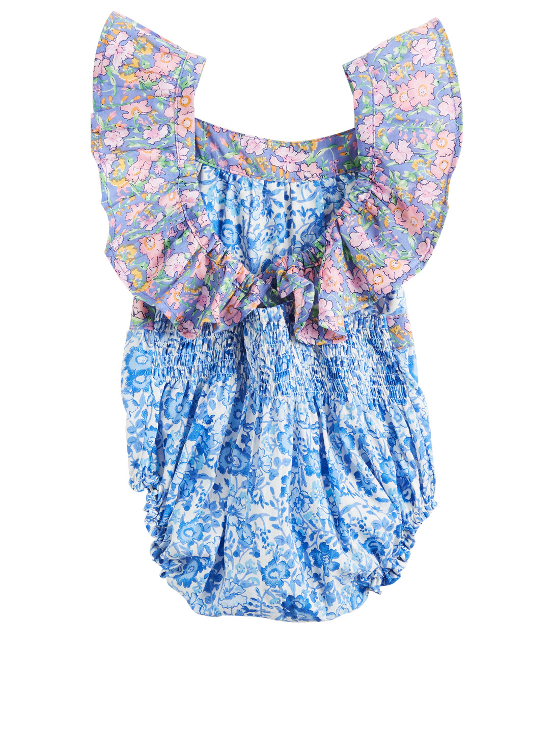 COCO & GINGER Camille Baby Sunsuit Romper In Indian Flower Print H Project Multi