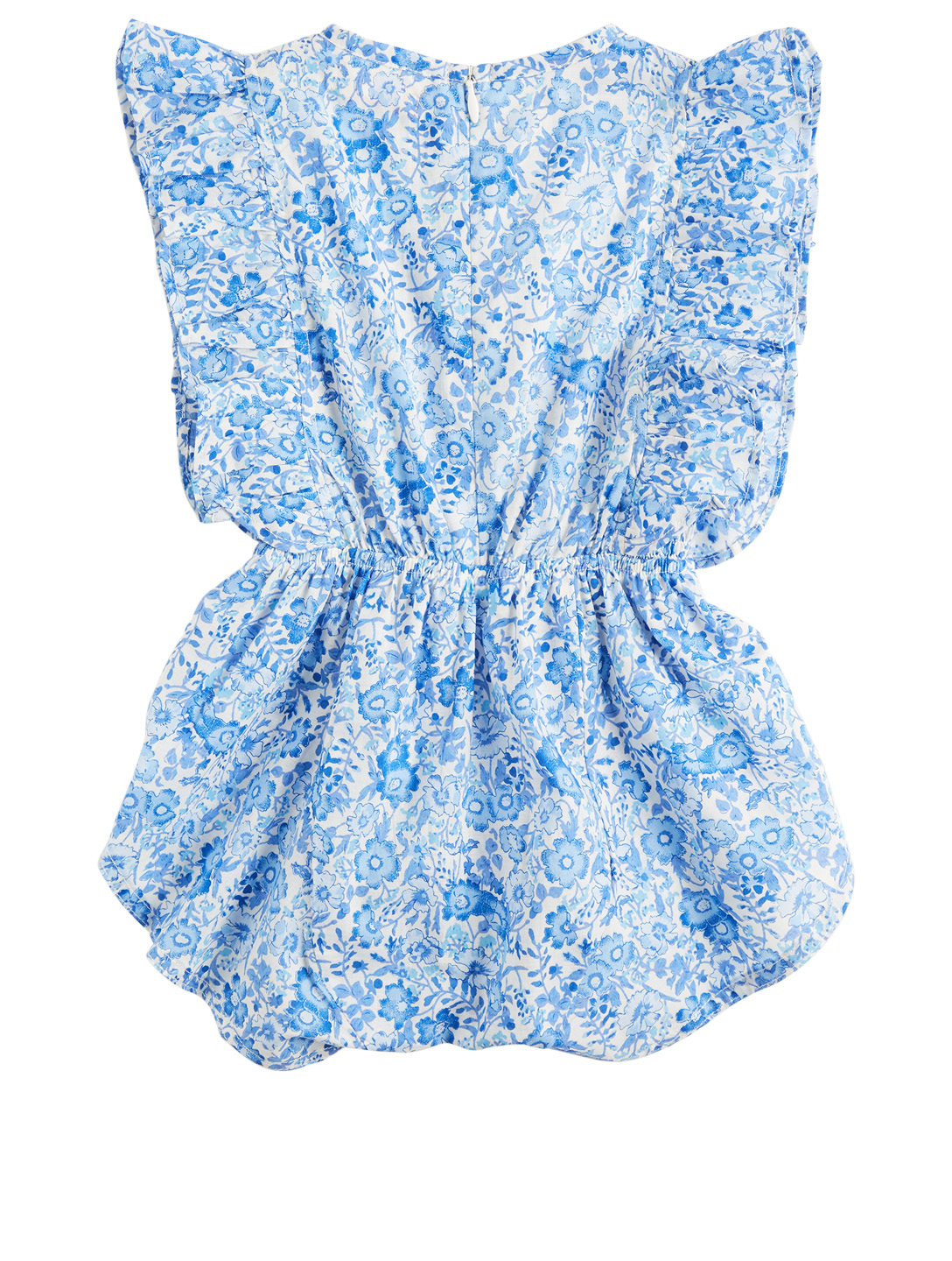 COCO & GINGER Delphine Baby Sunsuit Romper In Indian Flower Print H Project Multi
