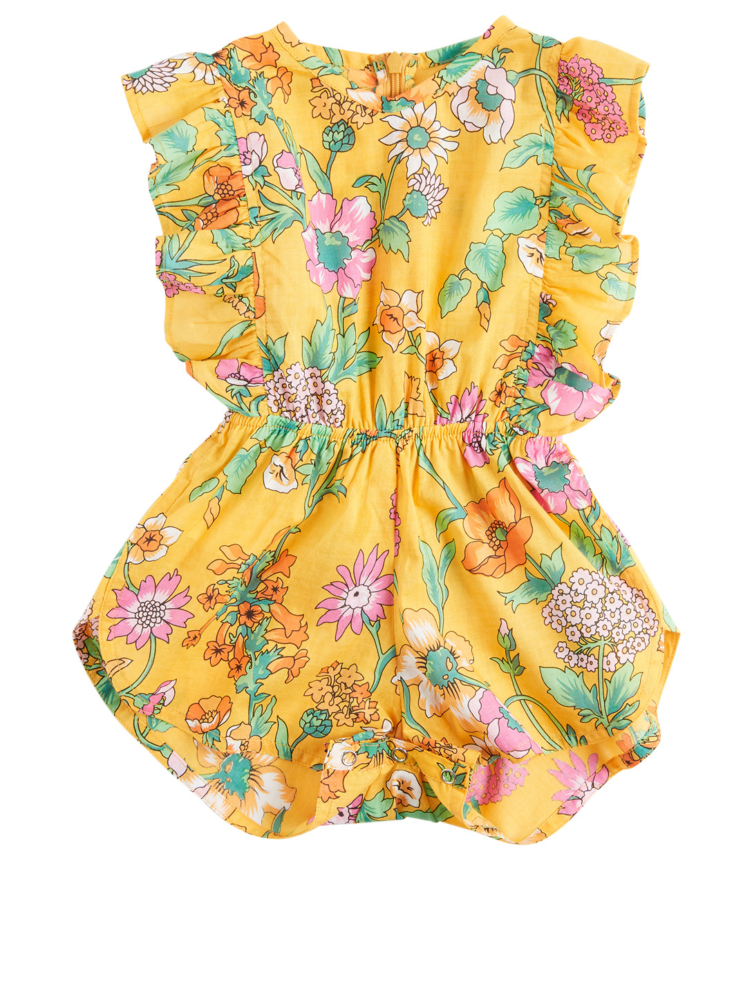 COCO & GINGER Delphine Baby Sunsuit Romper In Floral Print H Project Multi