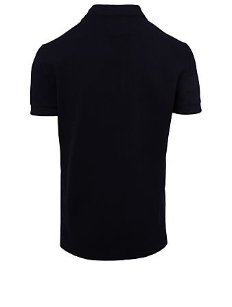 TOM FORD Piqué Polo Shirt Men's Blue