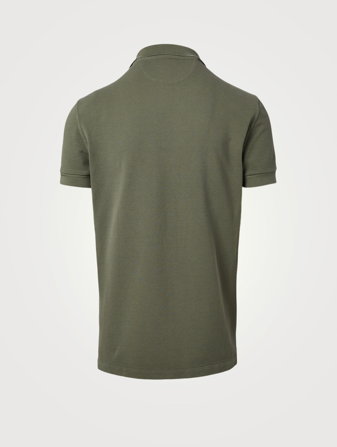 TOM FORD Piqué Polo Shirt Men's Green