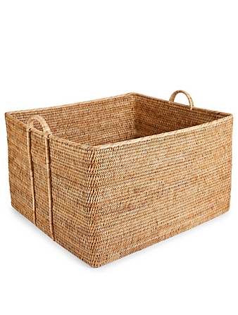 TURQUOISE MOUNTAIN Large Rattan Basket H Project
